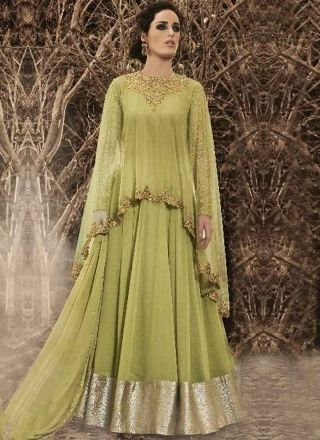 51c7e0a131e Buy designer latest collection of Long anarkali suit designed with  embroidery work in suit online.