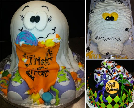 cute halloween decorations | Cute Halloween Cake Ideas Photograph | need something cute t