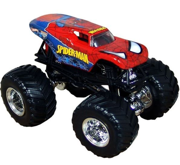 hot wheels spider man truck monster jam christmas pinterest wheels monster jam and. Black Bedroom Furniture Sets. Home Design Ideas