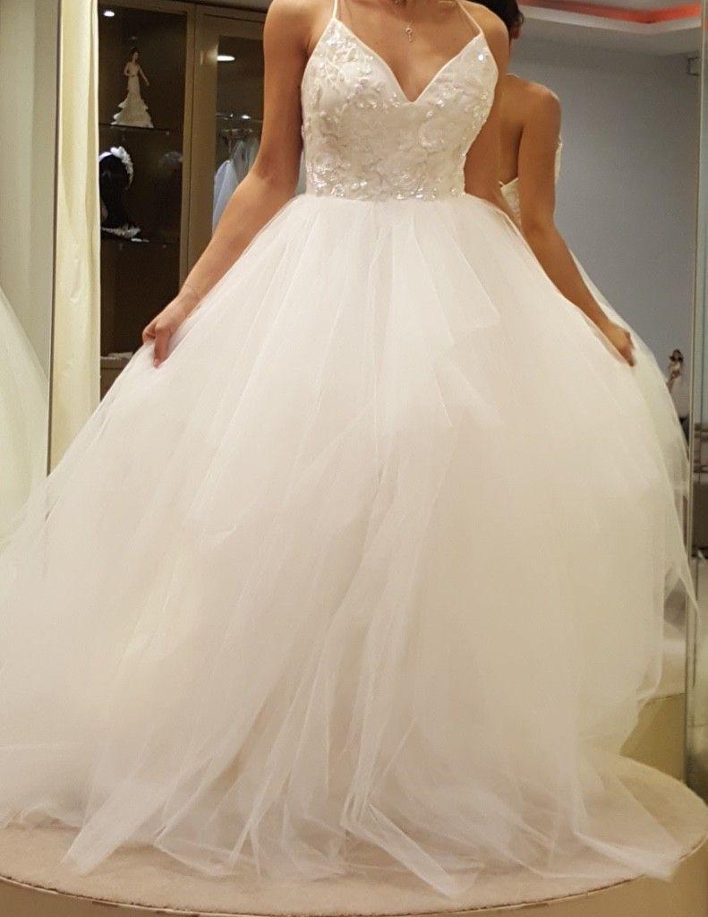 Size 8 wedding dress  Hayley Paige  New Nicoletta Size  Wedding Dress  Wedding dress