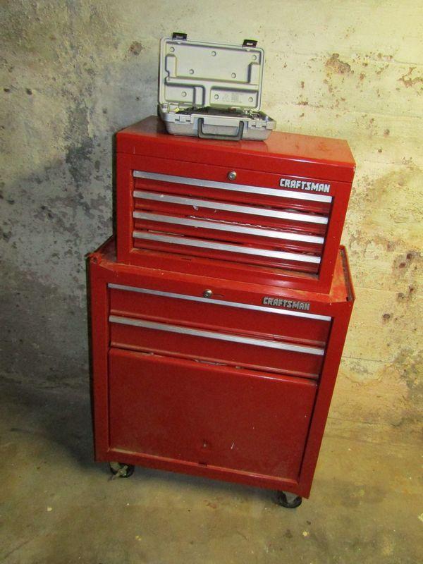 Craftsman rolling toolbox 43
