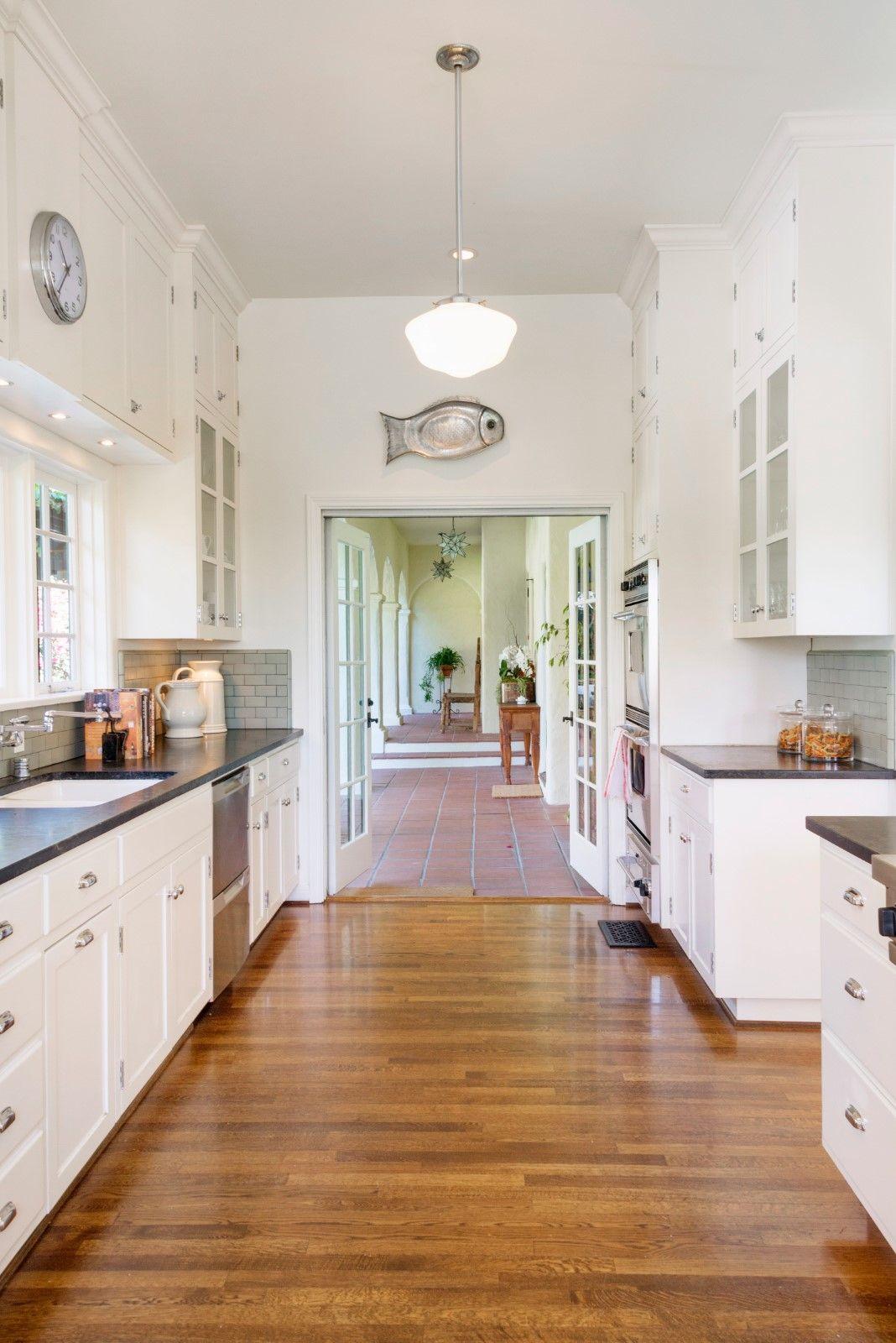 1927 California Spanish Revival kitchen, sensitive remodel ...