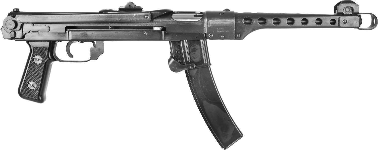 The Soviet 7 62mm PPS-43 Sudayev, a lighter, simplified 1942 design