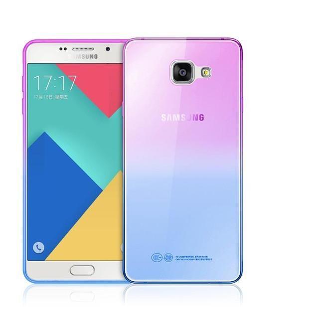 Fashion Soft Tpu Gradient Color Back Cover Case For Samsung Galaxy A3 A5 A7 2016 J1 J3 J5 J7 S3 S4 S5 S6 S7 Edge Grand In 2021 Samsung Galaxy Samsung
