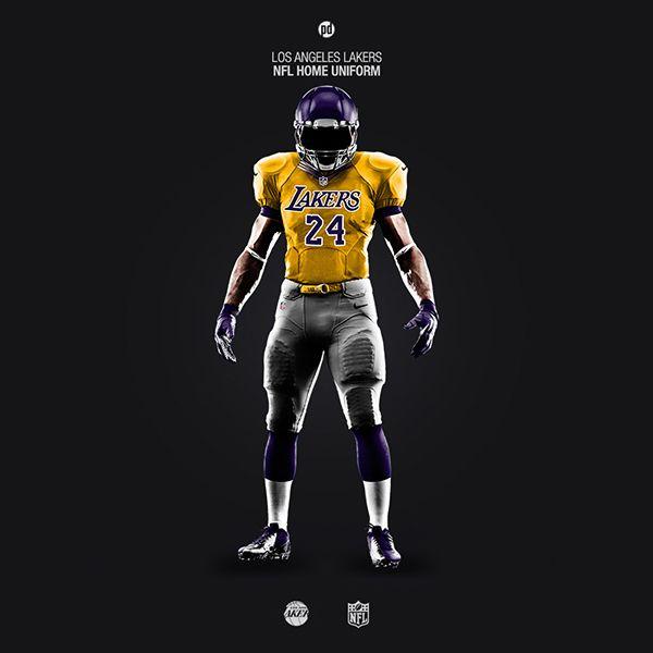 more photos 3fdc0 b49c3 Los Angeles Lakers | NBA: Los Angeles Lakers | Nfl uniforms ...