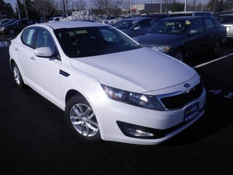 2017 Kia Optima Lx In White Marsh Md 10336950 At Carmax