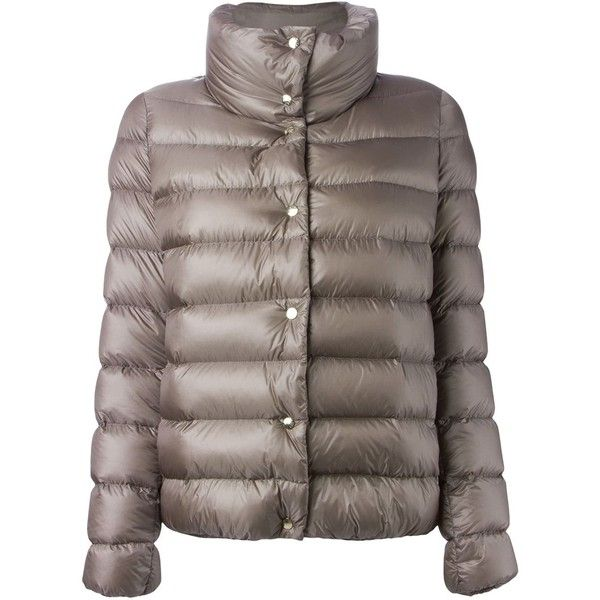 90 Off Moncler plessis Padded Jacket Grey