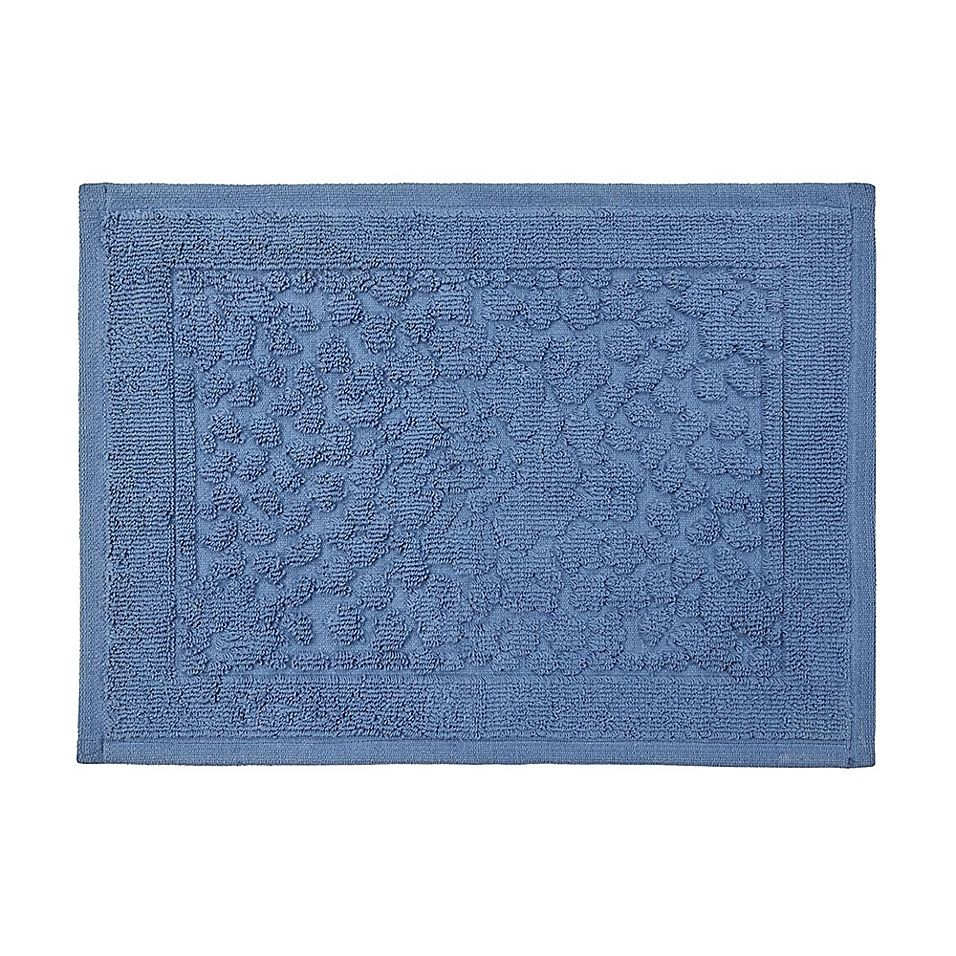 Bee Willow Home Clearwell 20 X 30 Bath Rug In Navy Bath Rug