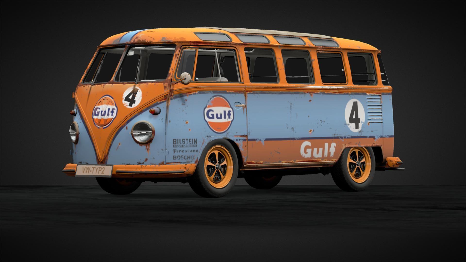 Rusty Samba Bus Gulf 2 Car Livery By Rinleosoul Community