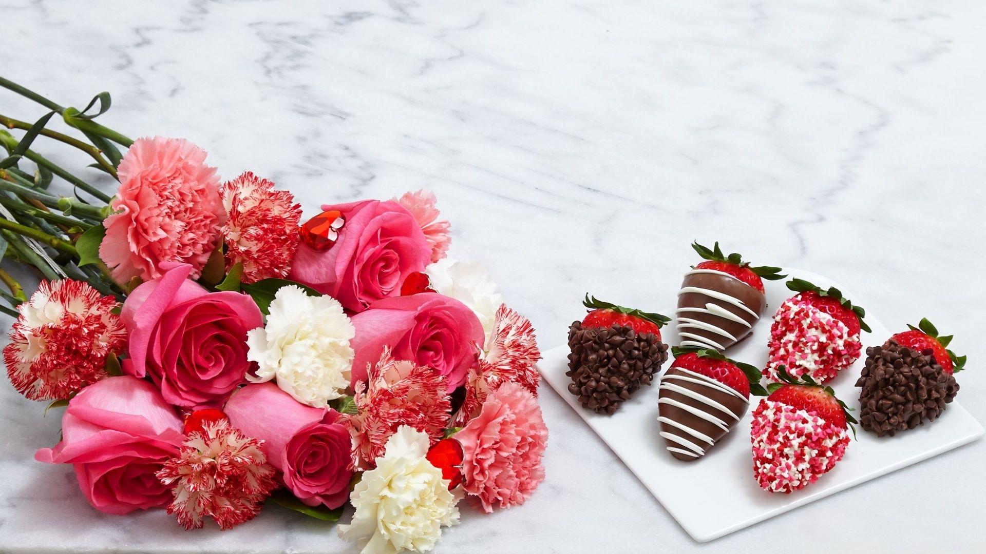 Цветы открытка шоколад, картинки надписями для