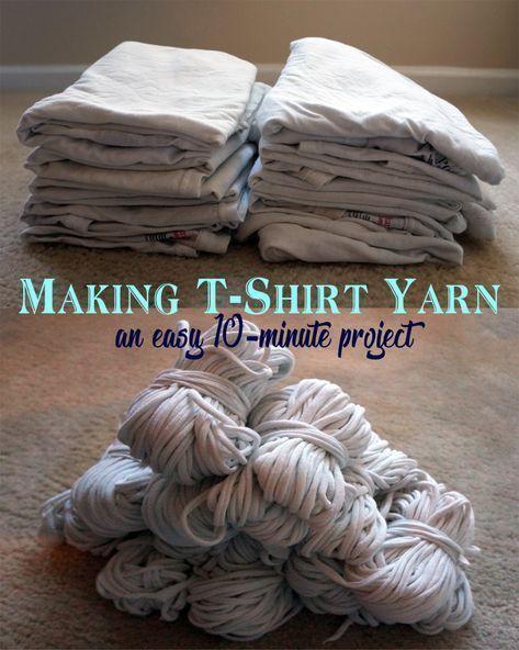 Turn old tshirts into yarn  nachhaltig leben Turn old tshirts into yarn  nachhaltig leben