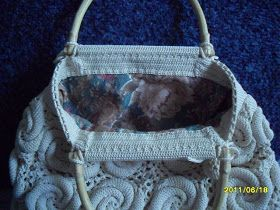 Uncinetto d'oro: La borsa bianca all'uncinetto!!!