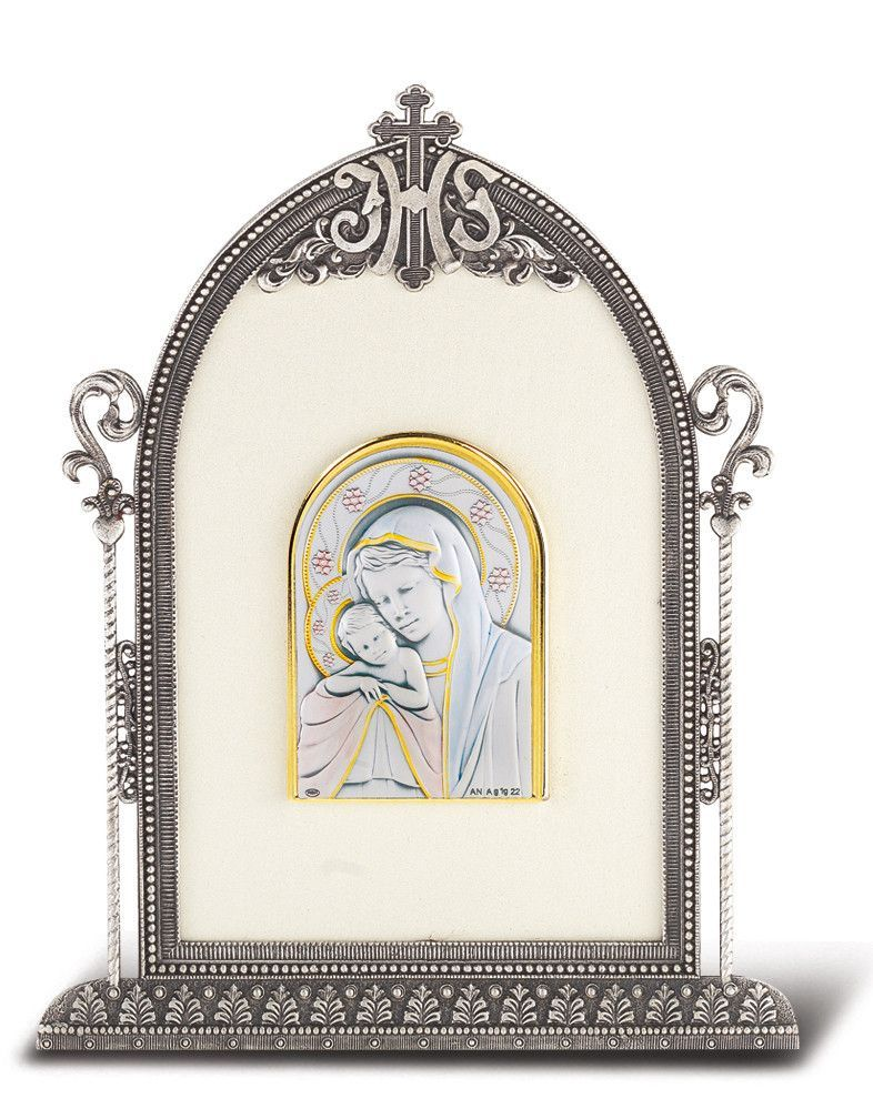 Silver Plated Metal Frame by HMH | Catholic Shopping .com ...