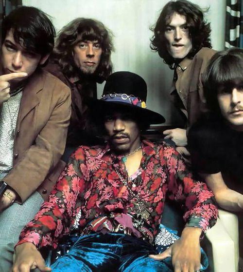 Eric Burdon, John Mayall, Jimi Hendrix, Steve Winwood & Carl Wayne