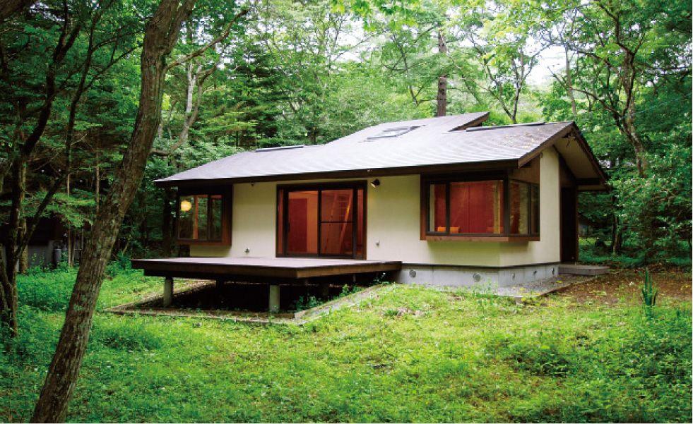 建築実例 軽井沢 八ヶ岳の別荘を土地選びから設計施工 管理まで モリノイエ 別荘 建築 ホームウェア