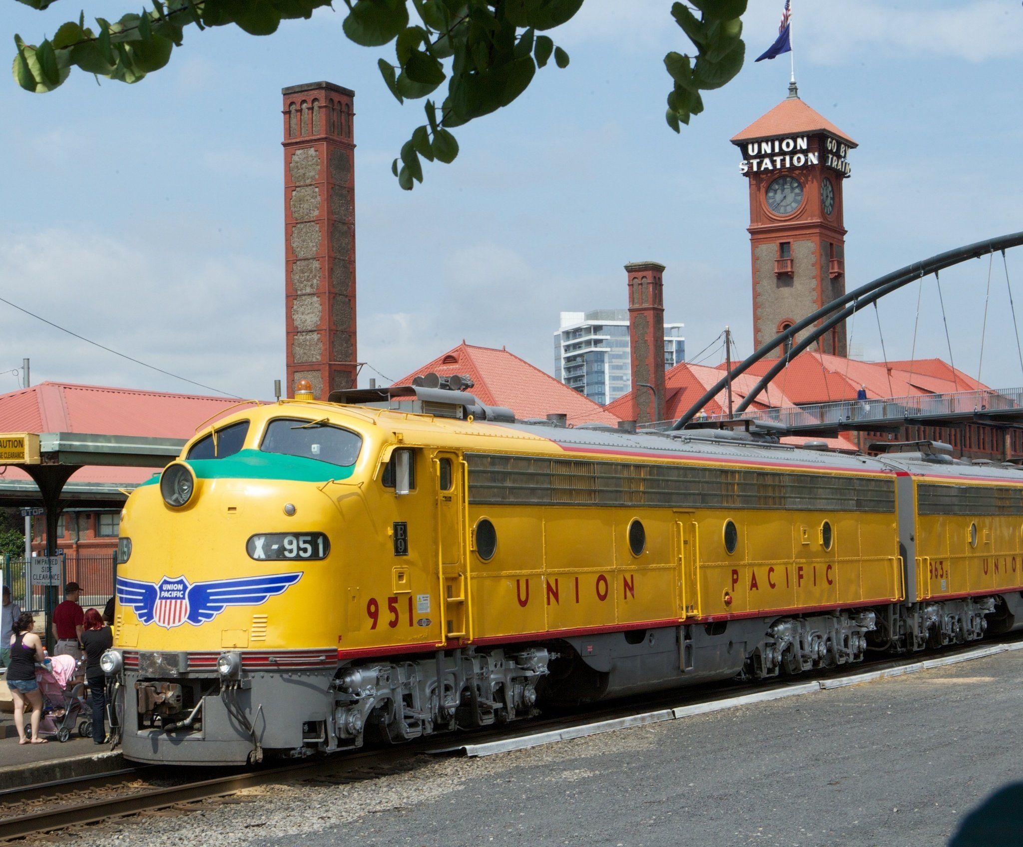 Union Pacific Railroad Hosts 150th Anniversary Celebration