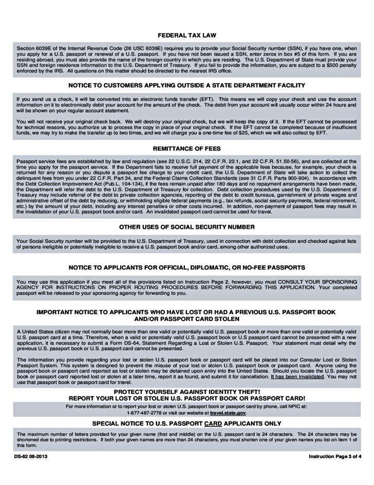 form-ds-82 08-2013 Form DS-82 for 2013 Pinterest Ds