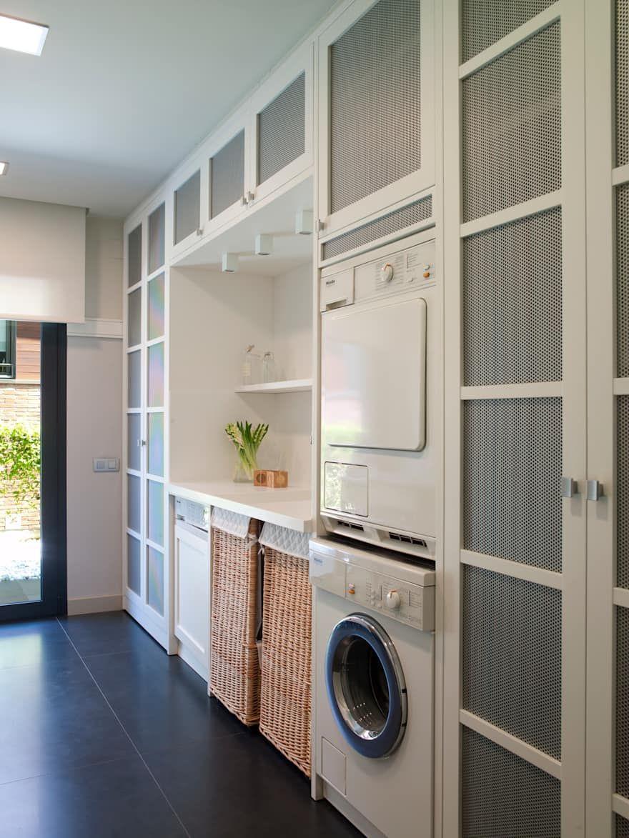 Espacios: ideas, diseños e imágenes | Rincón de lavandería ...