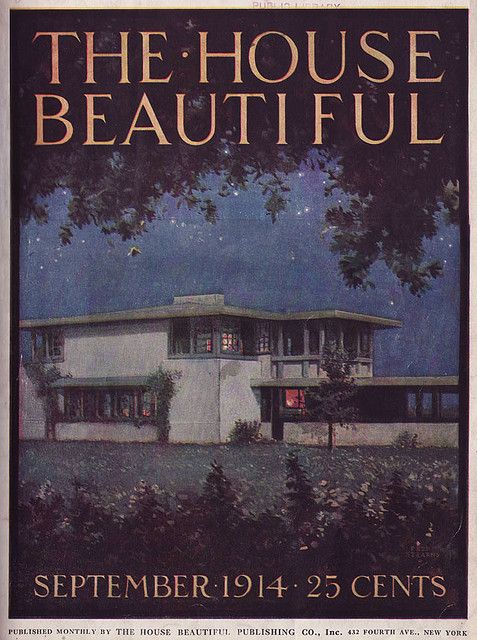 1914 House Beautiful by American Vintage Home, via Flickr