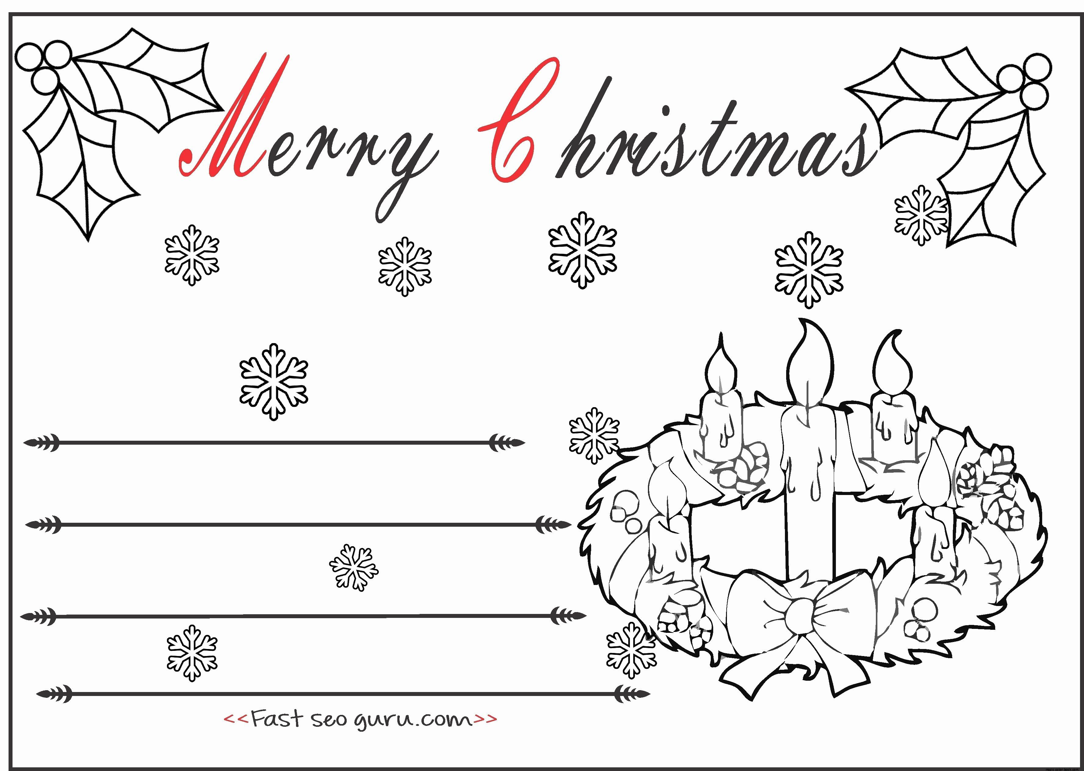 Christmas Reef Coloring Pages Beautiful Christmas Card
