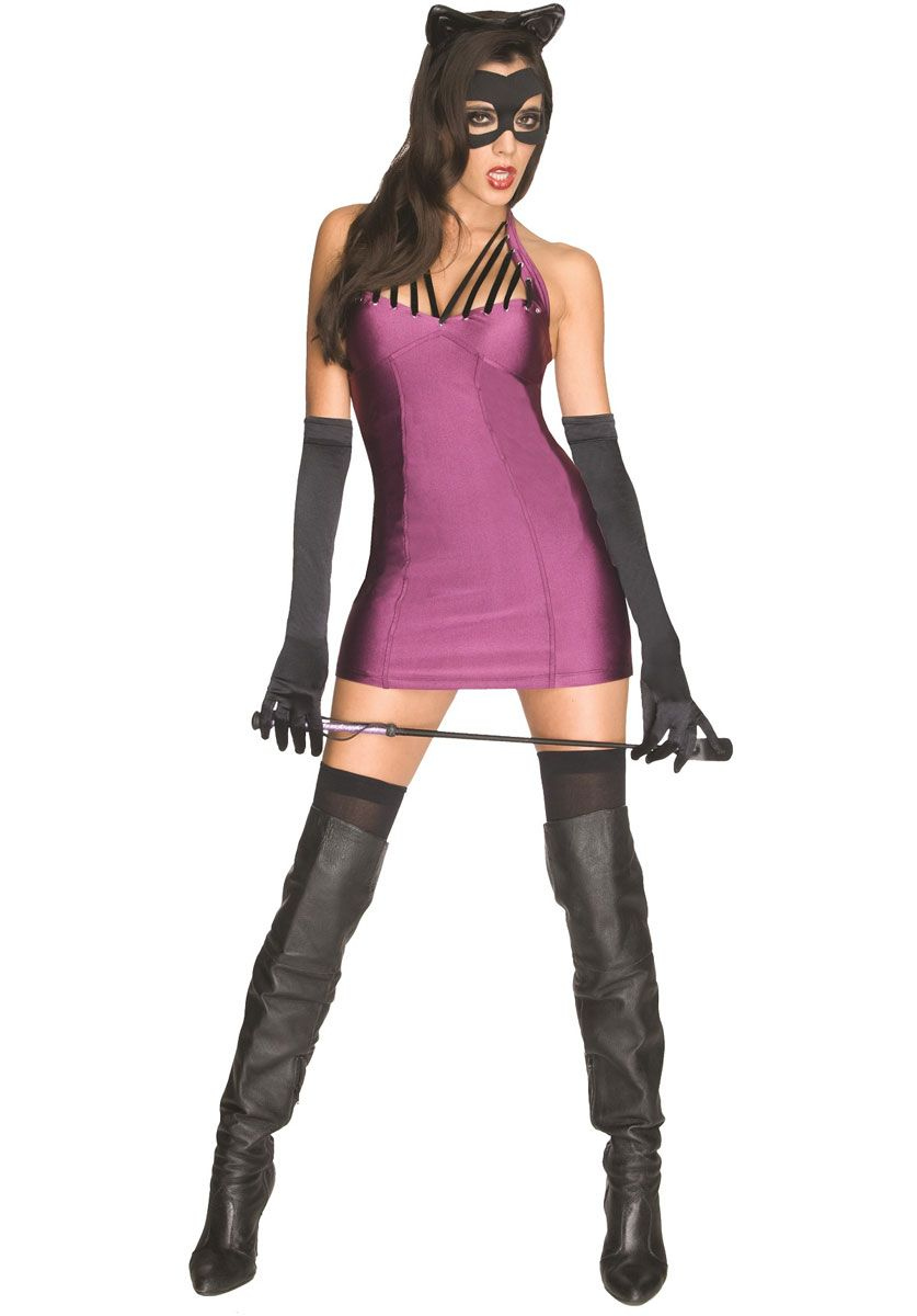Sexy Catwoman Costume Super Villains Fancy Dress Collection - Superhero Costumes at Escapade  sc 1 st  Pinterest & Sexy Catwoman Costume Super Villains Fancy Dress Collection ...