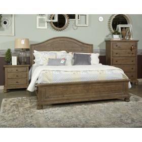 Trishley Light Brown 3 Piece Bed Set King Ashley Furniture Teak Bedroom Furniture
