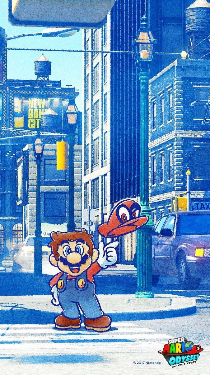 Super Mario Odyssey Cellphone Wallpaper  35e99651cf3b
