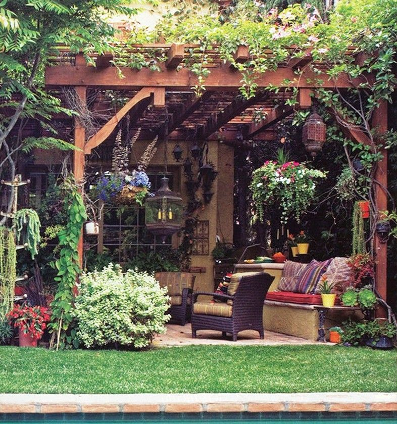 21 Best Patio Grape Arbor Decor Ideas