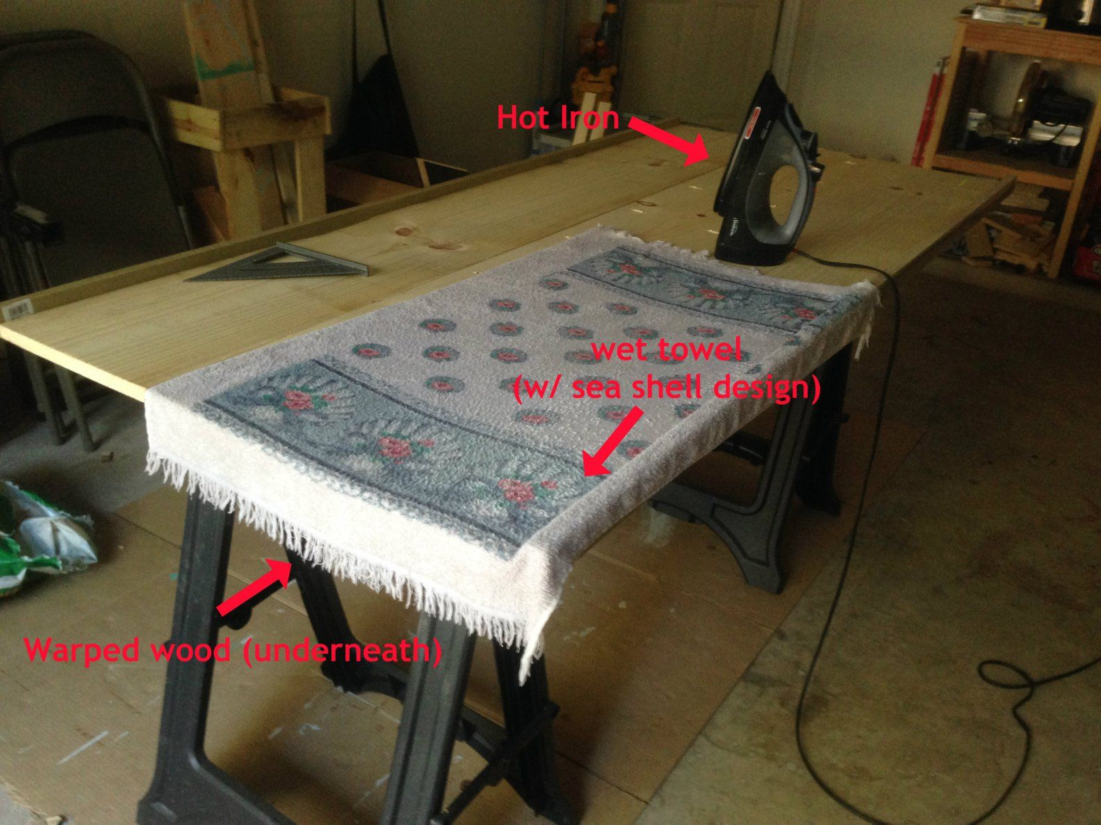 Warped Wood Fix Build A Table Diy Table Top Restoring Old Furniture