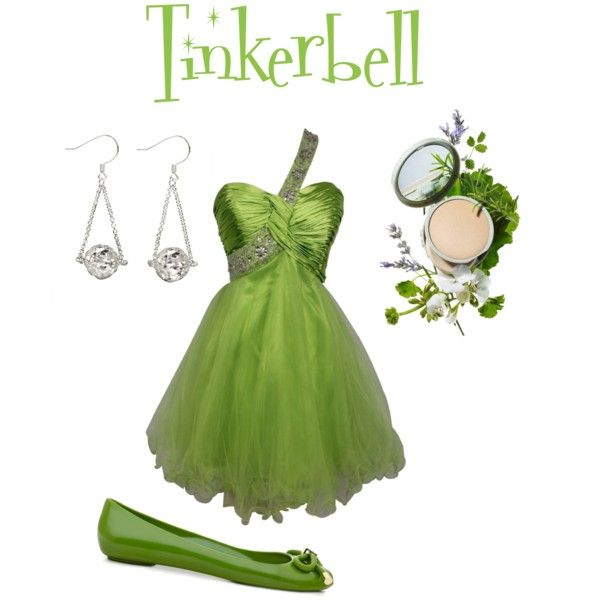 Tink, created by olivialg on Polyvore