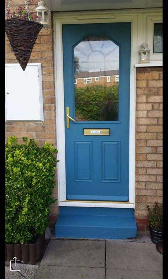 Paint Your Upvc Doors And Window Frames In Vintro Chalk Paint And Seal It With Vintro Extreme Lacquer Painted Painted Upvc Door External Doors Window Frames