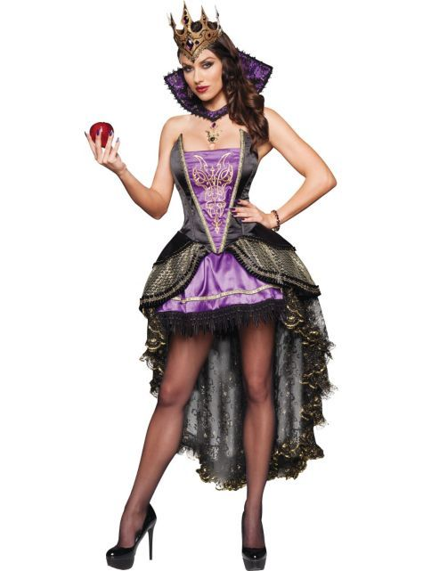 Costume adult womens set queen party