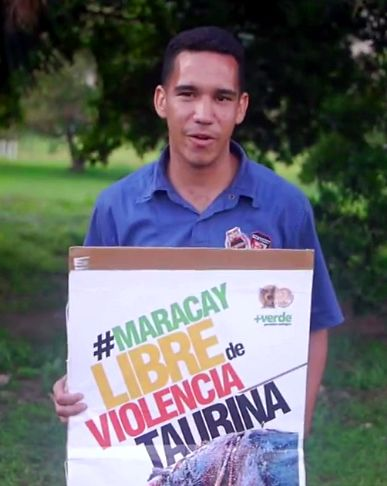 ¡Los aragüeños se pronuncian contra la barbarie! #MaracayLibreDeViolenciaTaurina