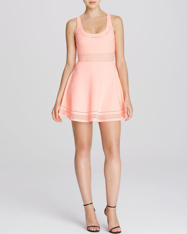 Elizabeth And James Kenton Dress in Pink (Coral Glow)