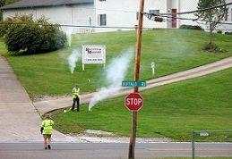 Smoke Testing Smoke Testing Wastewater Sewer System