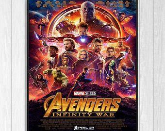 AVENGERS 3: INFINITY WAR - 2018 Original 2-Sided 27X40 Movie Poster - Final Style - Robert Downey Jr., Scarlett Johansson, Chris Hemsworth