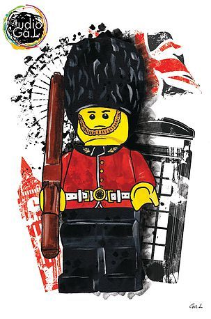 Lego Garde London Lego Et Dessin