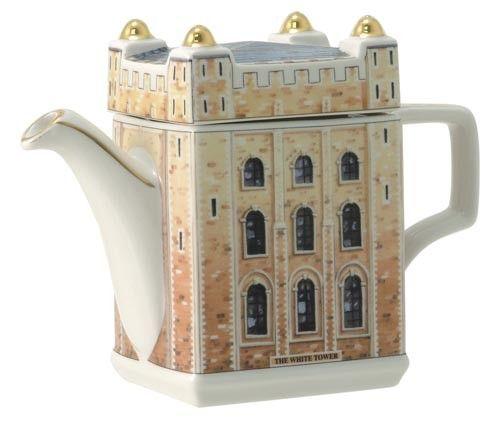 James Sadler Fine Bone China Teapot - Tower of London