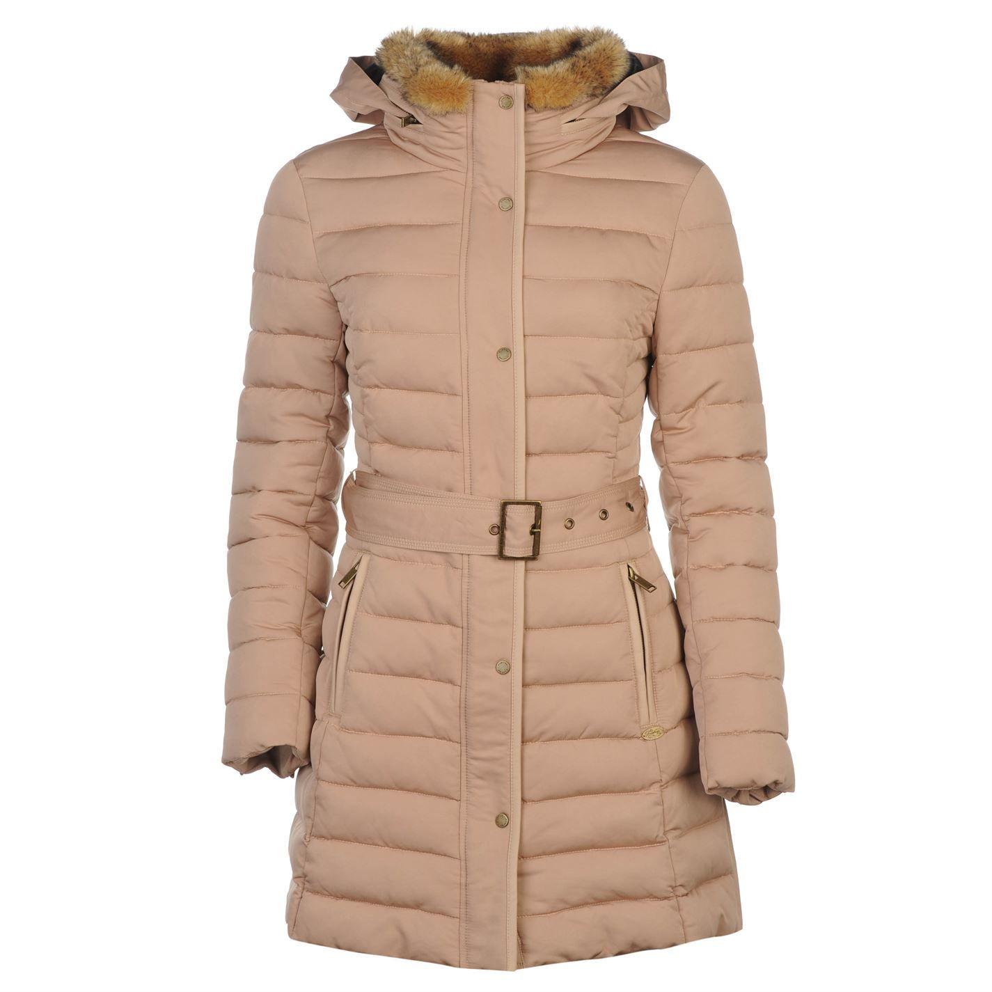 Firetrap | Firetrap Luxury Bubble Jacket Ladies | Ladies Jacket