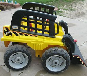 Fisher Price Power Wheels Cat Caterpillar Bobcat Skid Tough Loader Tractor Parts Power Wheels Tractor Parts Tractors