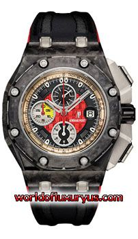 #AudemarsPiguet  AUDEMARS PIGUET: ROYAL OAK OFFSHORE GRAND PRIX CHRONOGRAPH, 26290IO.OO.A001VE.01