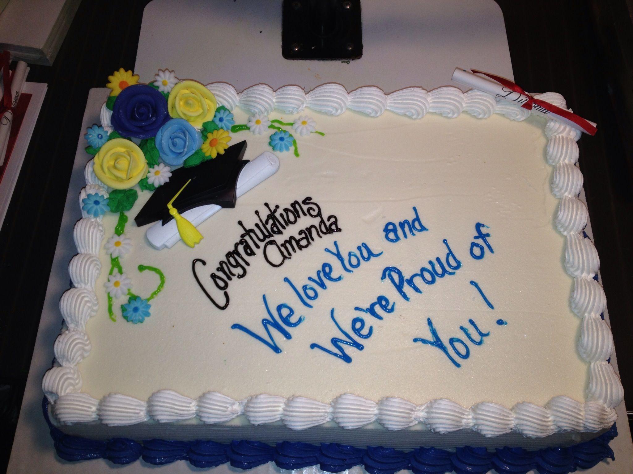 Dq cakesdairy queen graduation ice cream cake