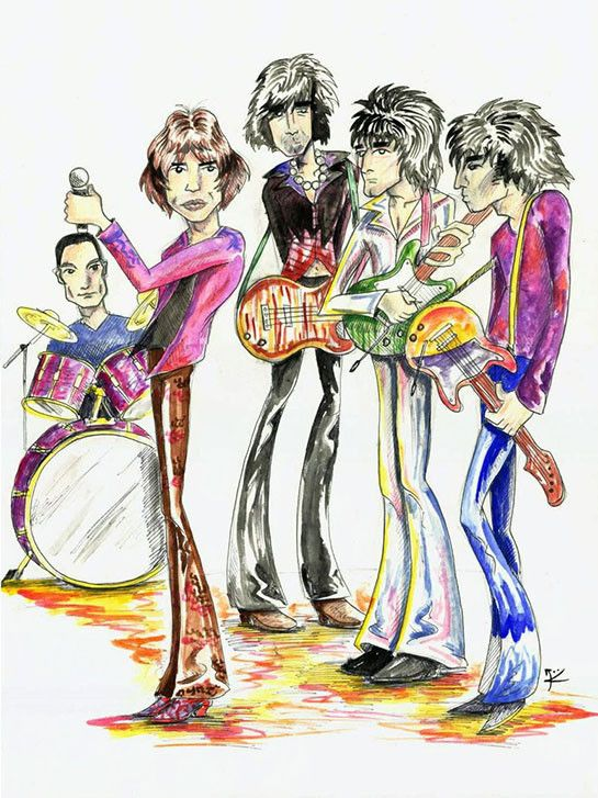ROLLING STONES ROCK N ROLL ICON CANVAS WALL ART PICTURE PRINT READY TO HANG