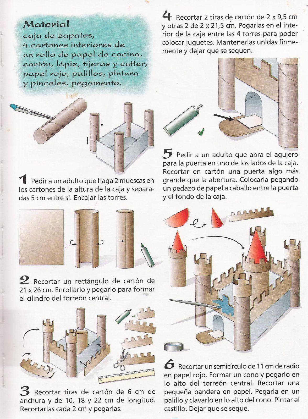Pin De Diana Arivilca En Ideas Creativas Castillo De Carton