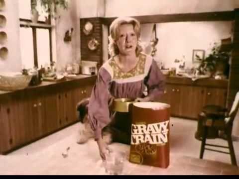 Gravy Train Dog Food Commercial Vintage 1970 S Youtube Tv