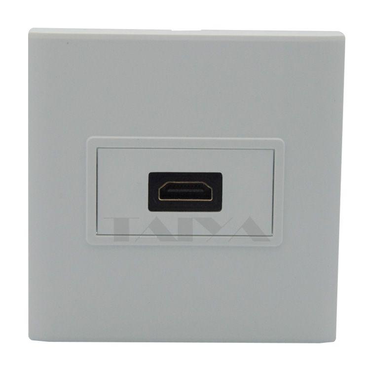 HDMI 벽 플레이트 뒷면 여성 커넥터 지원 3D 4 천개
