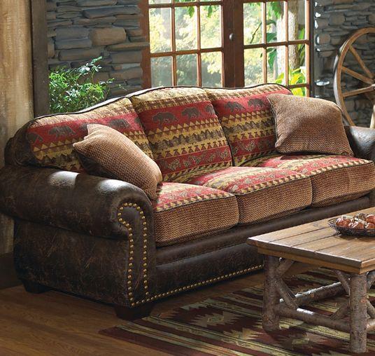 Bear Creek Rustic Sofa = $ 2300 Luv Seat = $ 2200, Chair