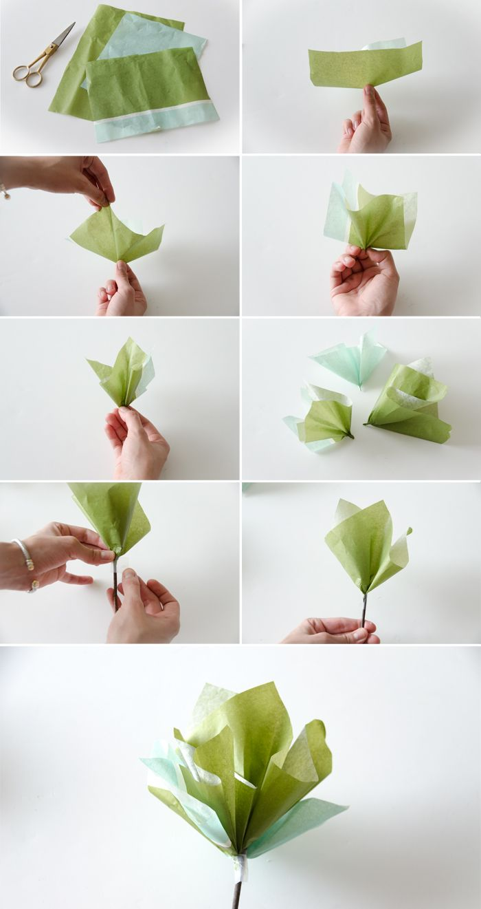 Super Easy Paper Flowers Diy T O D O Pinterest Easy Paper