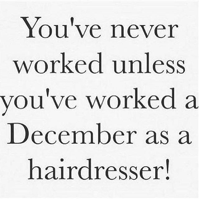 merrychristmas #thebeautybar #salon #busybusybusy DIARY OF A - hairstylist job description