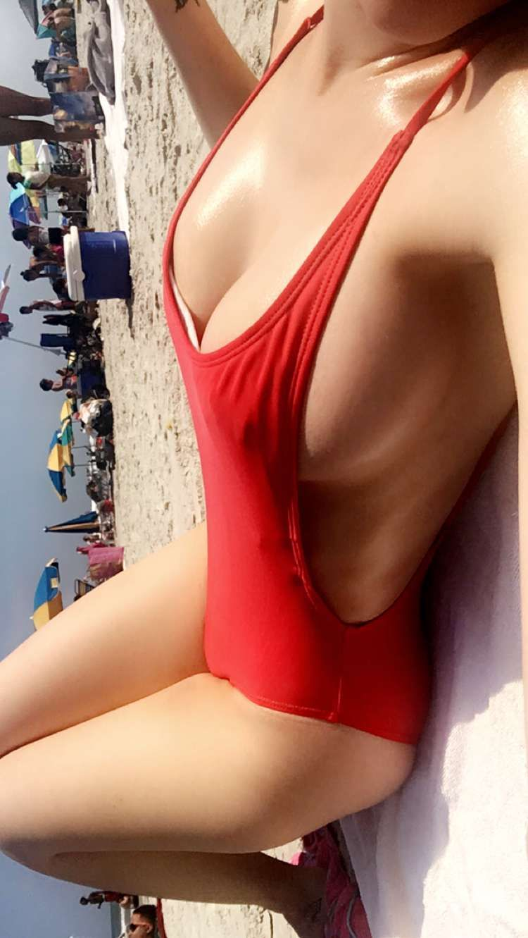red bikini Faith